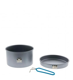 Laken Set de Camping aluminio antiadherente -1pax / 3pzs / 1,6L / 322g-