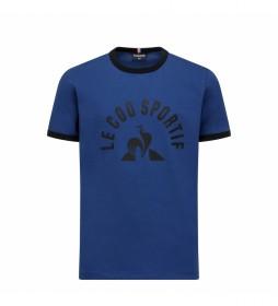 Camiseta Enfant N°4 azul