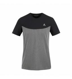 Camiseta Tech N°2 M gris, negro