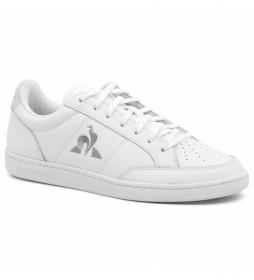 Zapatillas de piel Court Clay blanco