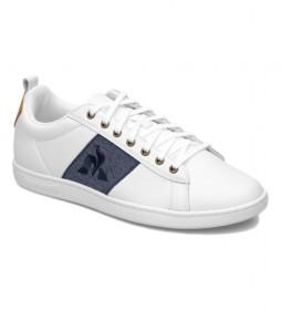 Zapatillas de piel Court Classic blanco
