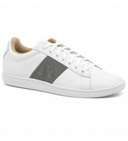 Zapatillas de piel Courtclassic blanco