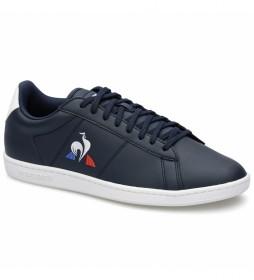 Zapatillas de piel Courtset azul