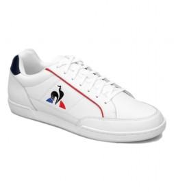 Zapatillas de piel Tournament blanco