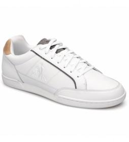 Zapatillas de piel Tournament Optical blanco