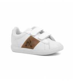 Zapatillas de piel Court Classic INF blanco