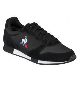 Zapatillas de piel Alpha negro