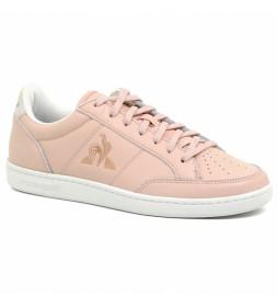 Zapatillas de piel Court Clay rosa