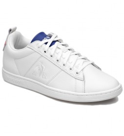 Zapatillas de piel Courtclassic Sport blanco