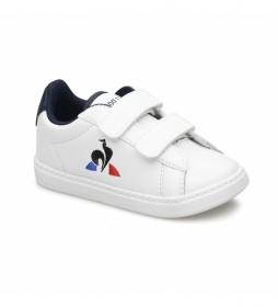 Zapatillas COURTSET INF blanco, marino