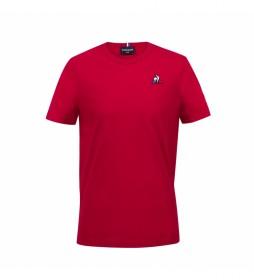 Camiseta ESS SS N°2  rojo