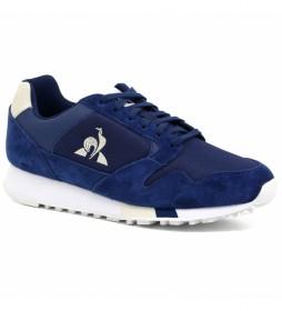 Zapatillas de piel Manta azul