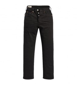 Jeans 501 Crop Black Sprout negro