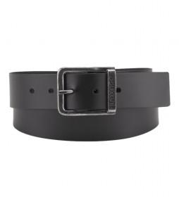 Cinturón de piel Alderpoint negro