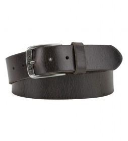 Cinturón de piel Alturas  marrón