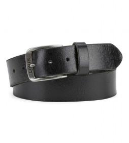 Cinturón de piel Alturas  negro