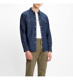 Camisa Bartstow Western marino