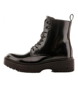 Botas de piel Bria negro