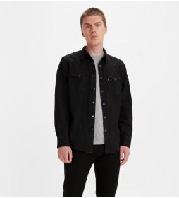 Camisa Bartstow Western negro