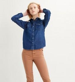 Camisa Essential Western Air Space 2 azul