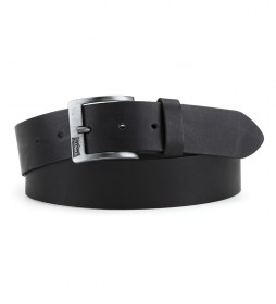 Cinturón de piel Cloverdale negro