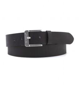 Cinturón de piel Feminine Free Belt negro