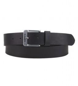 Cinturón de piel Free negro