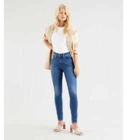 Jeans 721 High Rise Skinny azul