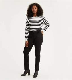 Jeans 724 High Rise Straight negro
