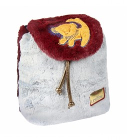 Mochila casual Pelo Pelo Lion King burdeos -23x25x12cm-