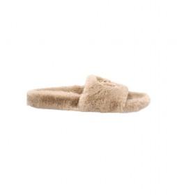 Zapatillas de casa Soft Slipper beige
