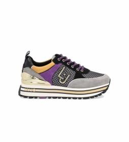 Zapatillas Maxi Wonder 20 gris, lila