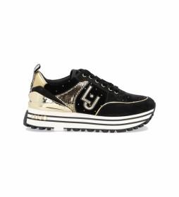 Zapatillas Maxi Wonder 20 negro, dorado