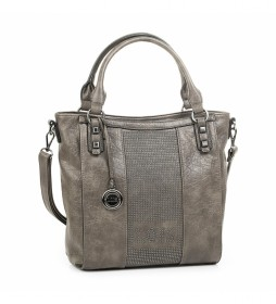 Bolso 94781 taupe -31x37x15cm-