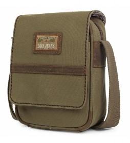 Bandolera 303316 camel -16x20x6cm-