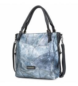 Bolso Tipo Shopping 304181 azul -31x38x12,5cm-
