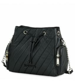 Bolso 311182 negro -25x21x10 cm-
