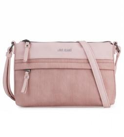 Bolso con Bandolera 303730 rosa -25,5x19x9 cm-