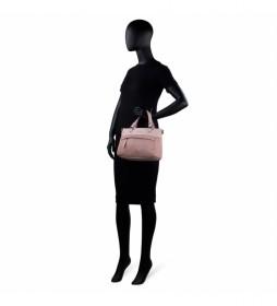 Bolso con Bandolera  303741 rosa -26x20x12,5 cm-