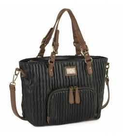 Bolso Tipo Shopping  308181 negro -35x23x12cm