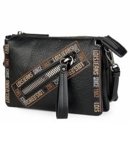 Bolso pequeño bandolera 304715 -23x17x5cm- negro
