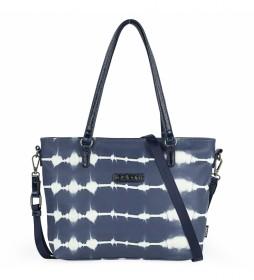 Bolso Shopper 310881 azul -34x24x8cm-