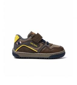 Zapatillas 46144 marrón