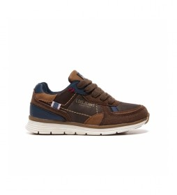 Zapatillas 63099 marrón