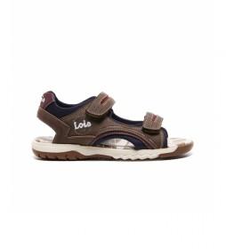 Sandalias 63117 marrón