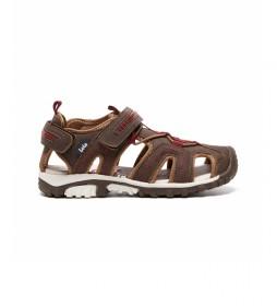 Sandalias 63120 marrón