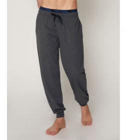 Pantalón pijama Jeans gris marengo