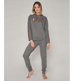 Pijama Bright gris
