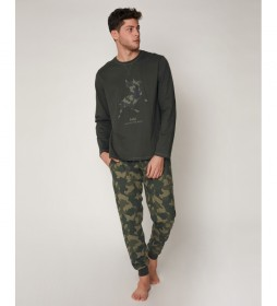 Pijama Field caqui