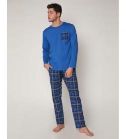 Pijama Jeans VIP azul
